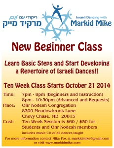 Markid Mike Beginners Fall 2014
