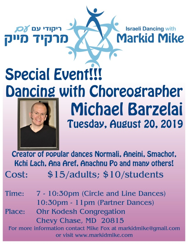 Markid Mike Special Event August 2019