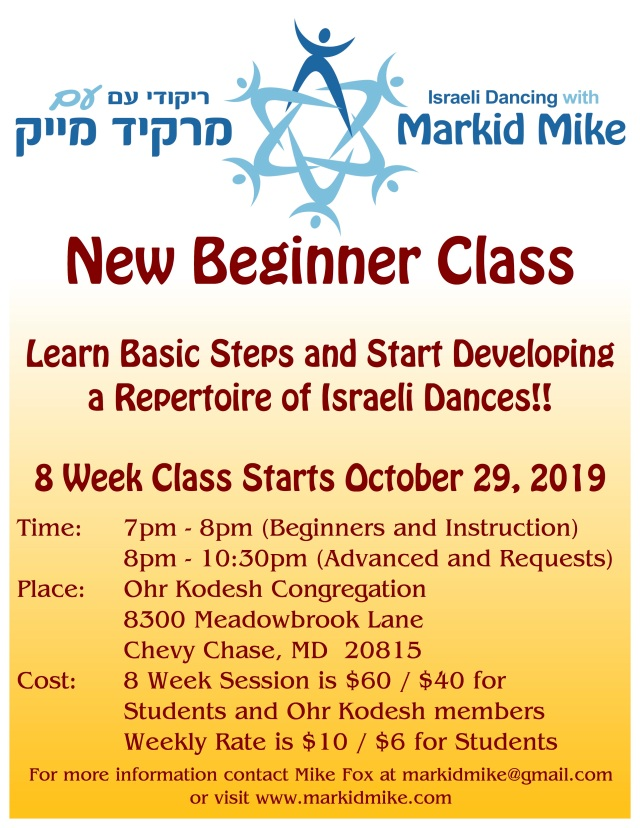 Markid Mike Beginners Fall 2019